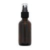 2oz Amber Glass Spray Bottle with Black Spray Top <p> (1 bottle)