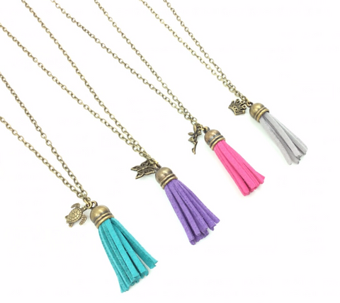 Tassel Diffuser Necklace