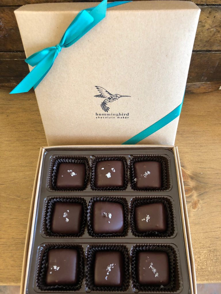 Salted Caramels - Box of 9
