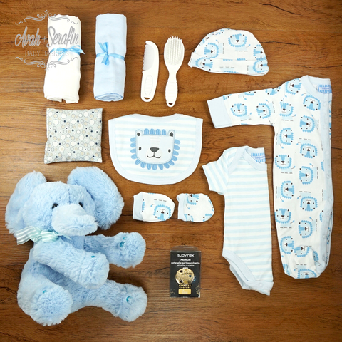 Super Cute - Baby Basket Junge