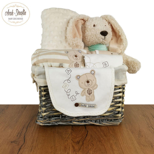 Deluxe Hase - Baby Basket