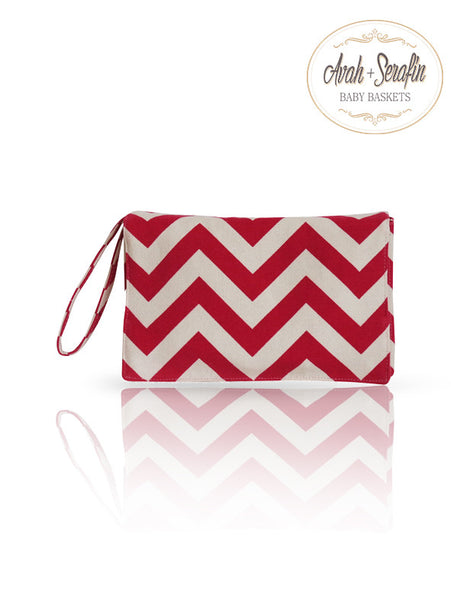 Windel Clutch - Etui *Rot* -  - Avah + Serafin Baby Baskets - 1