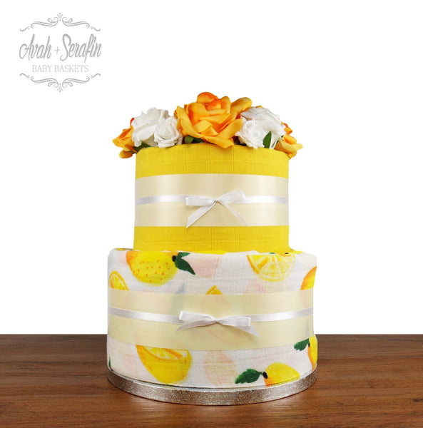 Lemon Tree - Diaper Cake
