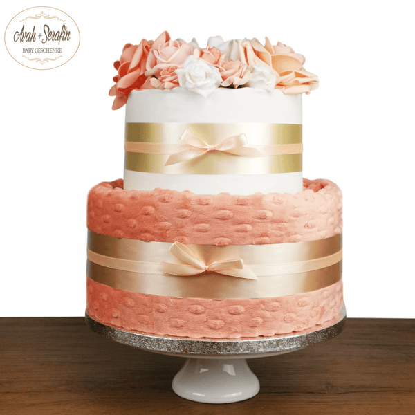 Love u Baby - Papaya - Diaper Cake