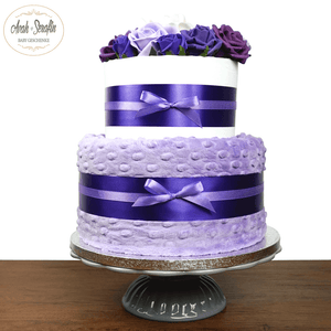 Love u Baby - French Lavender - Windeltorte