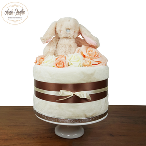 Mini Hase - Windeltorte