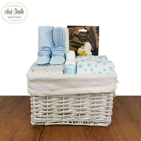 Hey Banana - Baby Basket - Blau