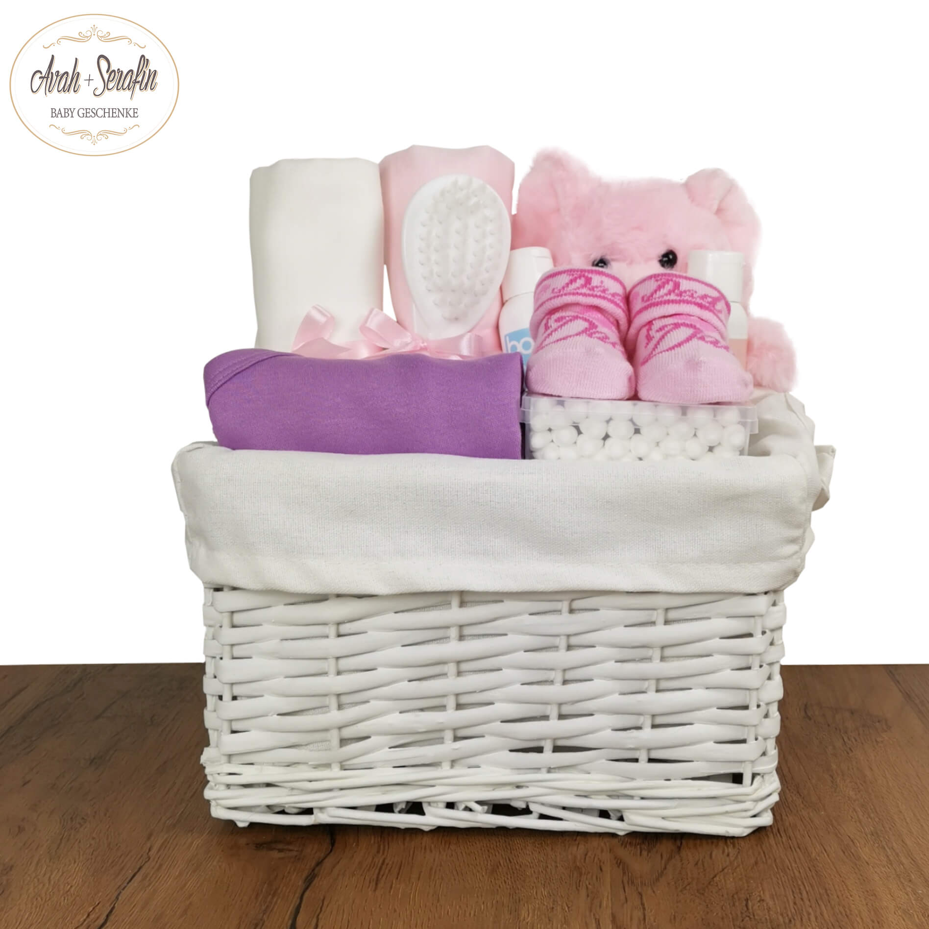 Mini Me - Rosa - Baby Basket