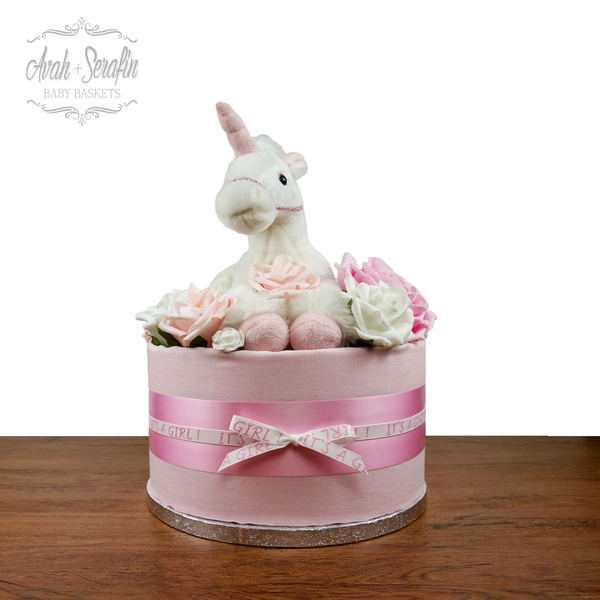 Unicorn - Diaper Cake