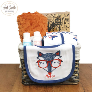 Mr. Rob the Fox - Baby Basket