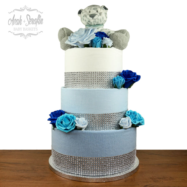 Lux - Diaper Cake Super Blue