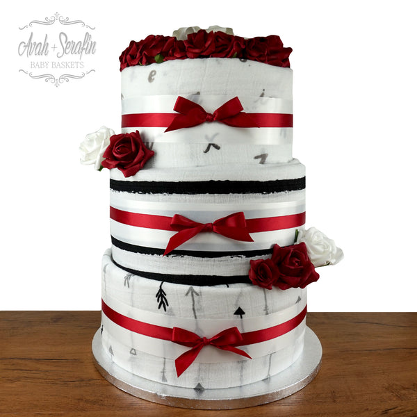 Monochrom Secret - Diaper Cake (M)