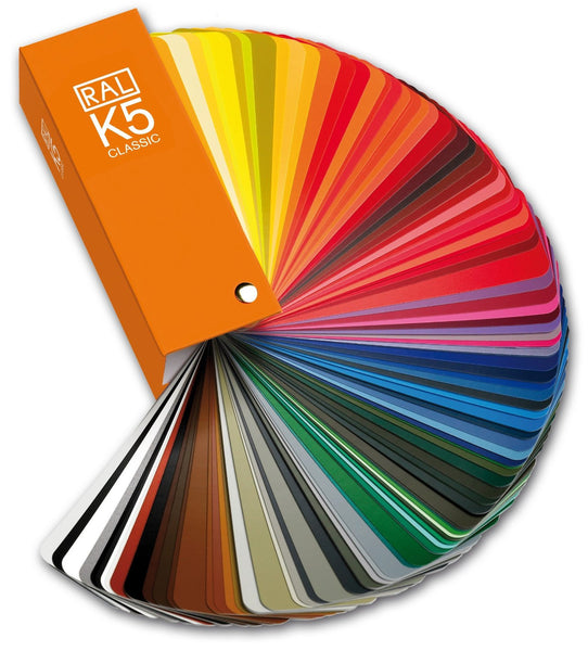 RAL K5 Classic Color Guide Fan Deck | Semi-Matte