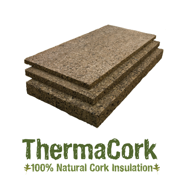 Thermacork 2 shiplapped facade grade cork insulation 6 panel pack eco supply - Cork insulation home ...