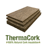 "Thermacork 4"" Shiplap Cork Insulation - 3 Panel Pack - Featured Image - 1"