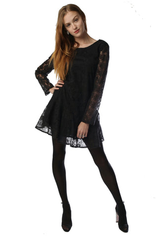 Flirty Cotton Lace Dress Style 1717