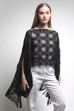 Limited Edition Hand Crochet Lace Poncho