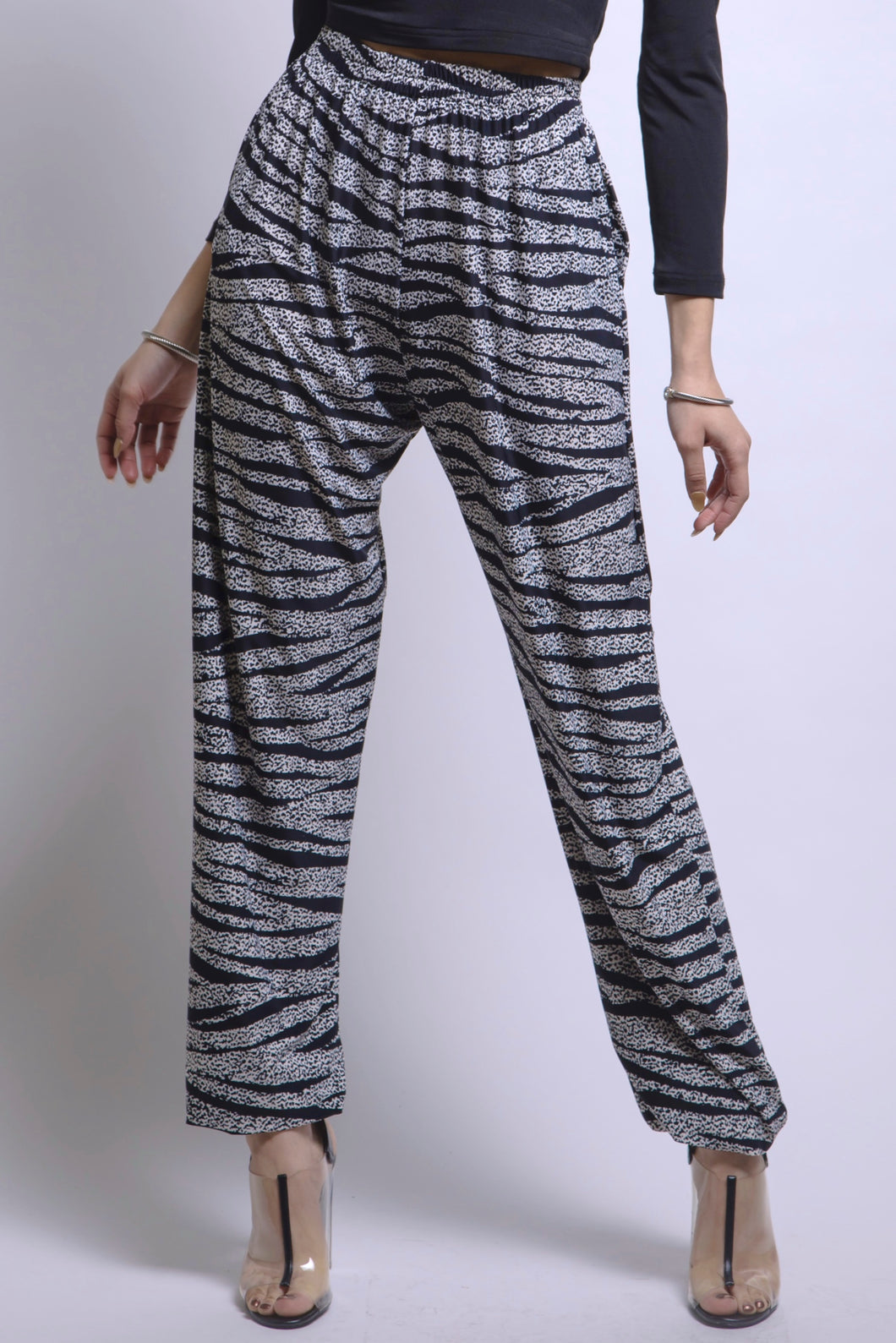 Zebra Pants: Made in NYC Style #174E