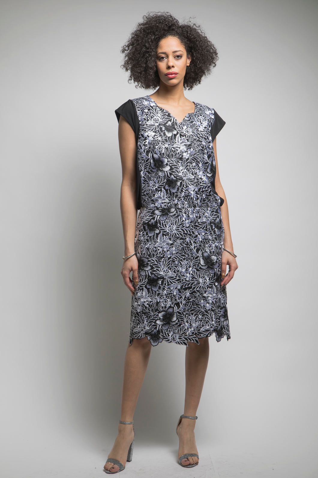 Made in NYC: Lace Panel Dress Style #155