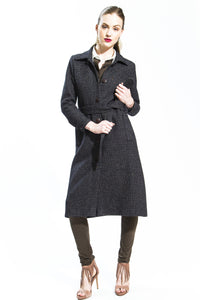 Made in NYC: Wool Shirt Coat Style 142