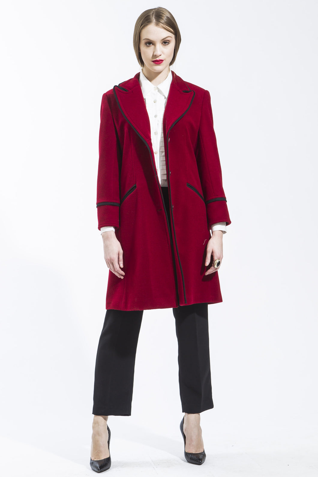 Made in NYC Cashmere Blend Coat Style # 109