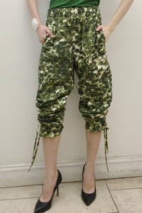Camo Luxe Track Pants (Made in NYC) Style# 174