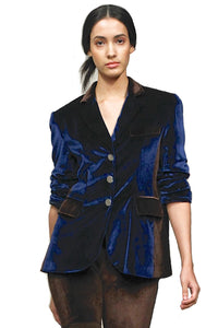 Made in NYC: Velvet Panel Jacket Style # 108