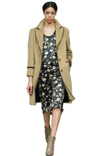Made in NYC Wool Trench Coat Style 109