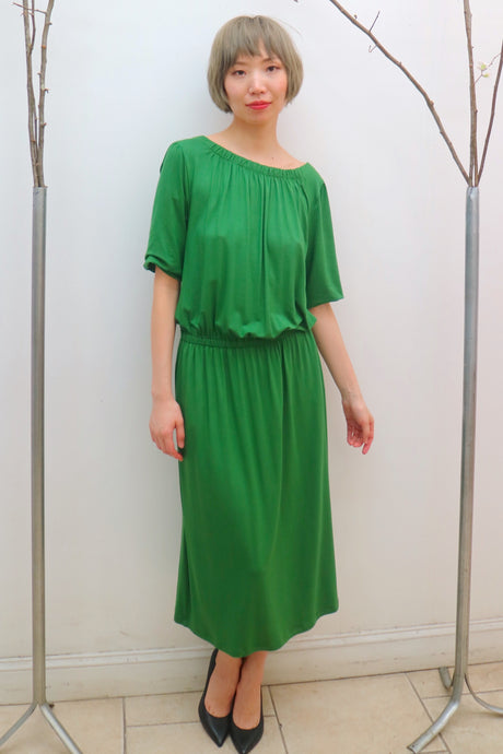 Green Bamboo Dress #175