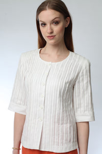 Pleated Blouse Style 1201