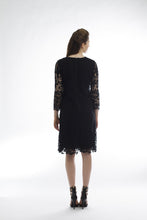 Quintessential Lace Dress (Black) Style #1298