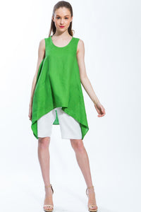 Origami Tunic (Kelly Green) Style# 150