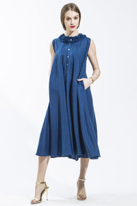 Denim Sun Dress 1746