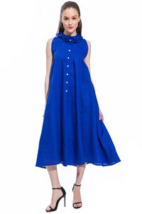 Royal Blue Sun Dress Style 1746