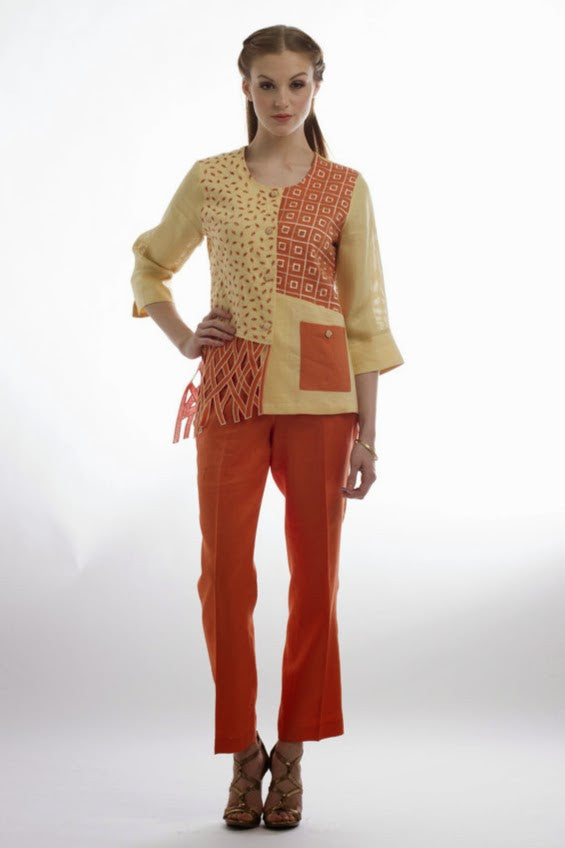 Swatch Jacket and Pants Set (Maize Orange) Style # 1755P
