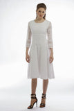 Lace Princess Panel Dress (Natural) Style # 1760