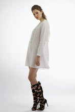Classi Linen Long Sleeve Tunic