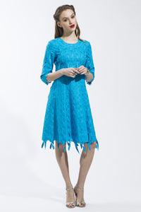 Ribbon Threaded Circle Dress Style 1788
