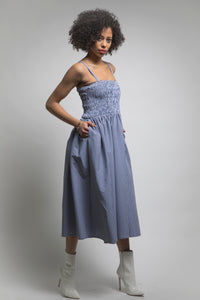 Made in NYC Transformable Gingham Dress Style # 212