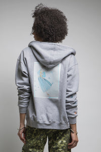 Made in NYC: Customizable Heat Transfer Hooded Sweatshirt Style #212T