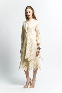 3 Piece Lace Skirt Suit (Style # 7343CS)