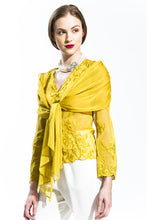 Gold Chiffon Angel Wing Blouse Style 7969