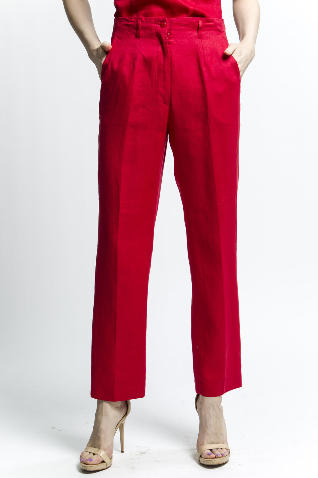Classic Pants (Red)  Style 8066