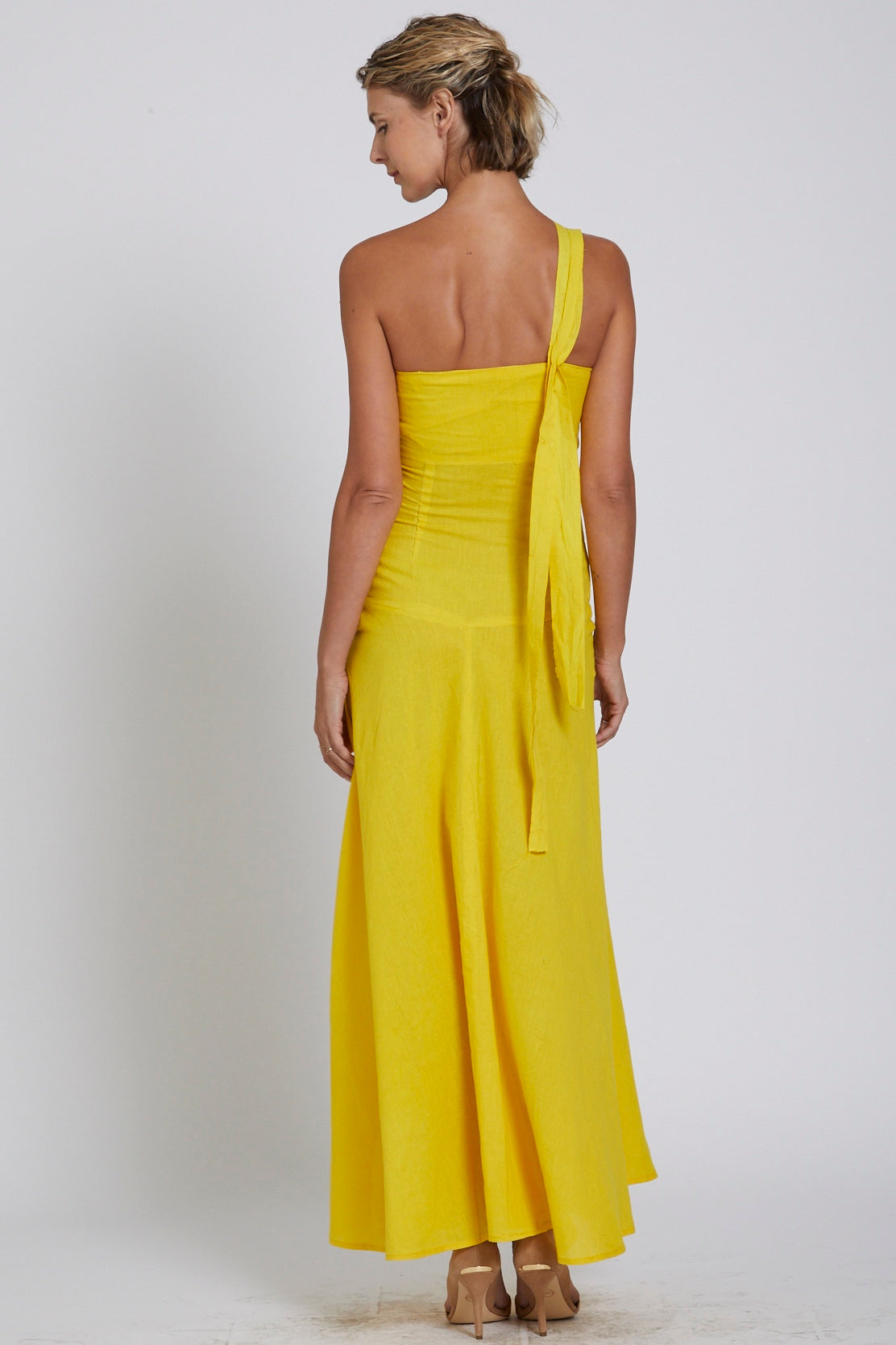 caa3fe896756 Made in NYC  Bustier Dress (Turmeric Gold) – JSong International