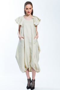Origami Dress Natural Style 151