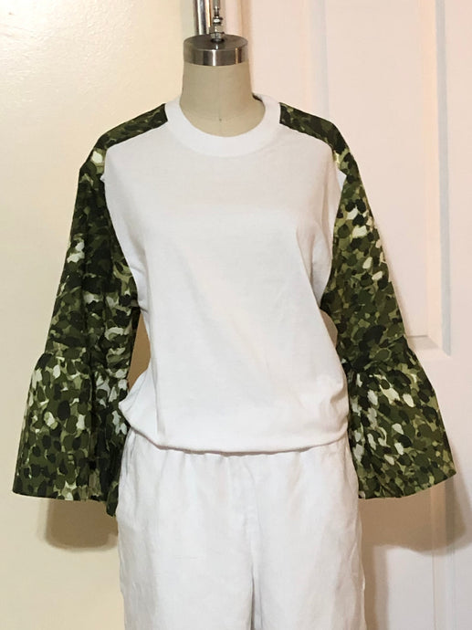 Up-cycled Cotton T Shirt (Style# T101A)