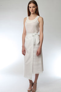 Tie On Wrap Skirt Style # 1794