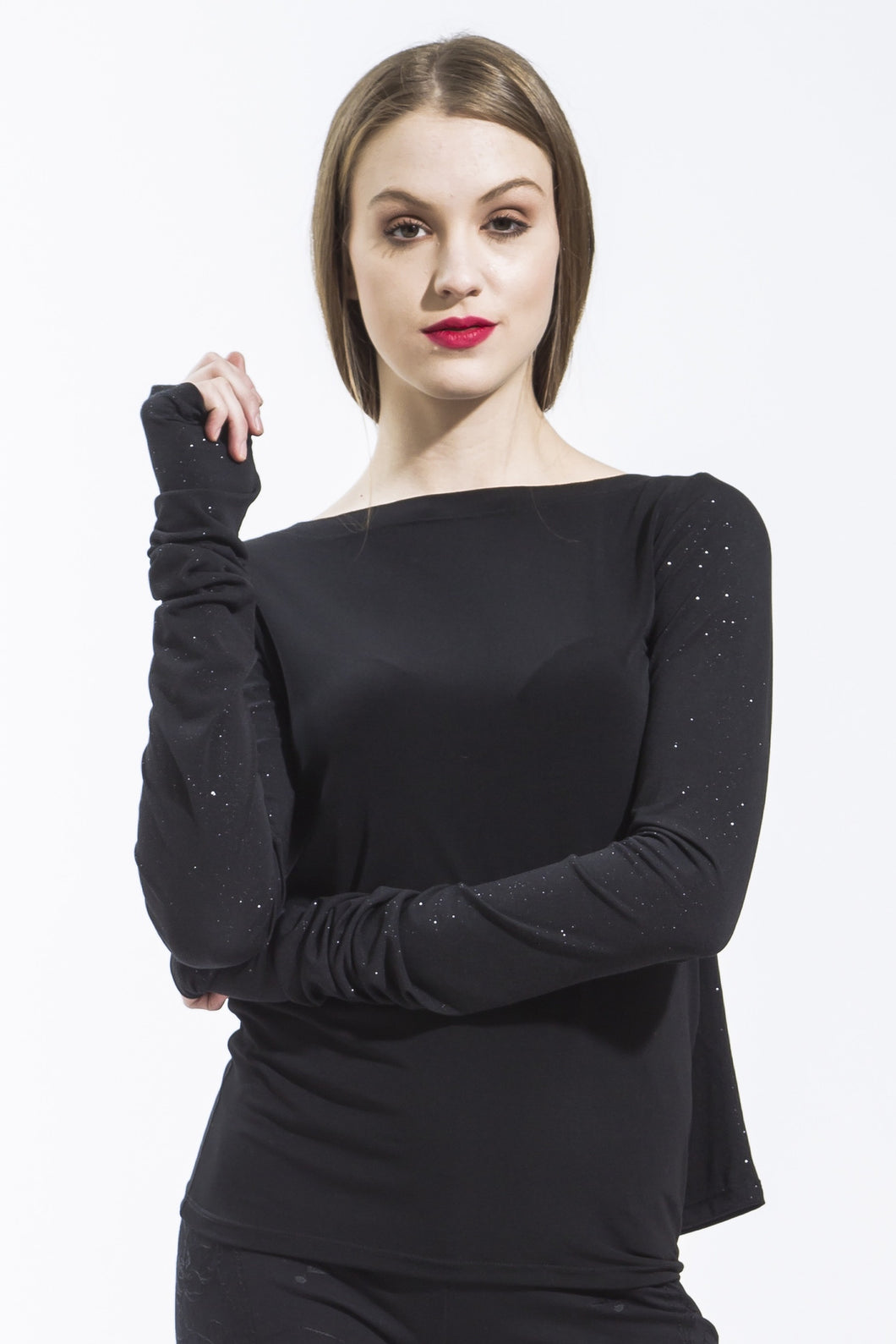 Black Transformable Tee Style #123
