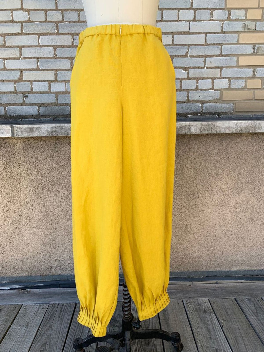 Made in NYC Dancer Pants (Marigold)