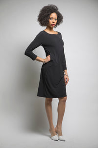 The Go-To Dress (Black) Style # 110A
